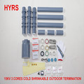 15KV Cold Shrinkable 3-Core Outdoor Termination Kits for 70-120mm2