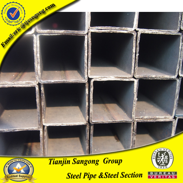 40x40 steel square pipe, 80x80mm square tube, 50x100 square rectangular steel pipe