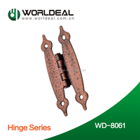 "Adjustable ""H"" type butterfly wood flap door hinge"