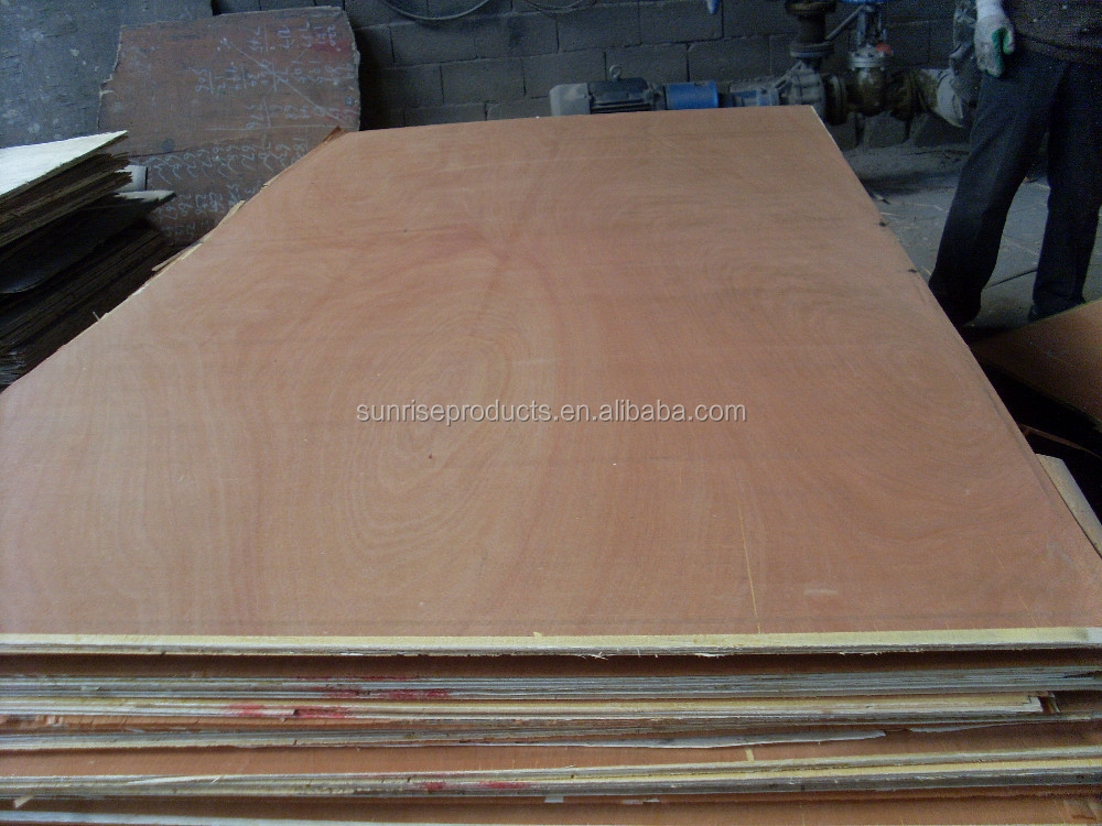 11.5mm okoume veneer B/C grade plywood two times hot press in low price for Africa market