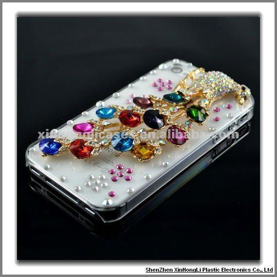NEW DESIGN, Mobile phone accessories, Diamond cases cover for iPhone 4G