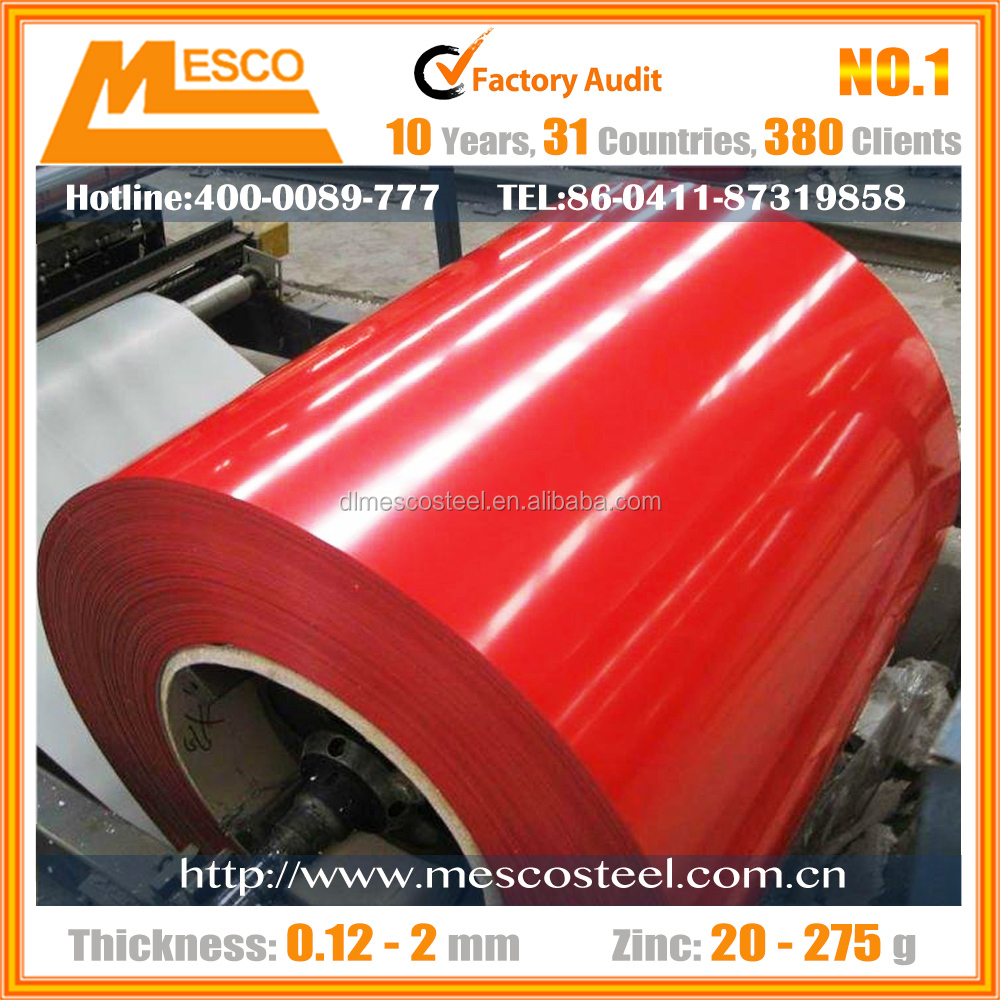 Top quality high elasticity Galvanized Iron Steel Sheet in coils PPGI COIL