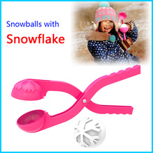 2016 Hot sale snow ball toy plastic snowball maker for kids