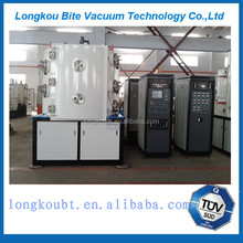 plastic cutlery PVD vacuum coating equipment/vacuum coating machine small size