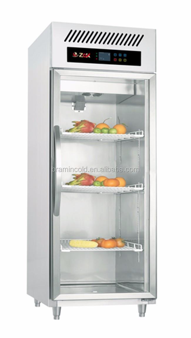Commercial 4 Glass Door Display Refrigerator Glass Door Freezer