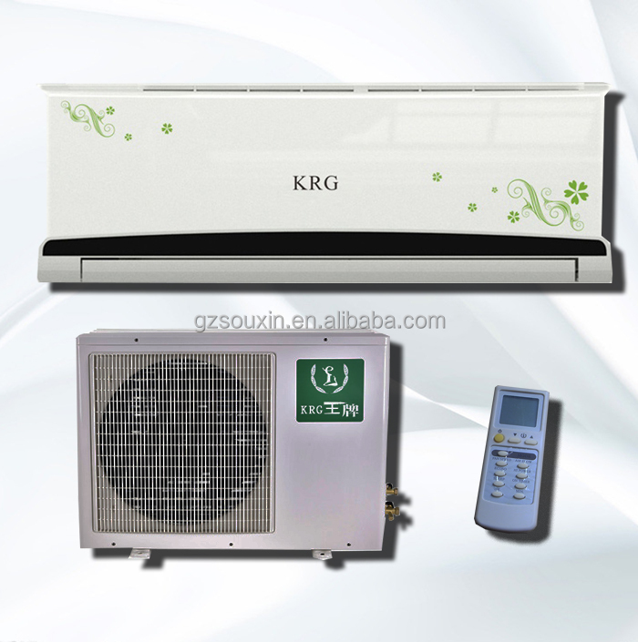 36000BTU superior quality split air conditioner cooling only with R410A R22