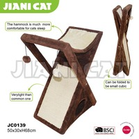 wholesale,brown color,wooden material,pet toy of cat tree