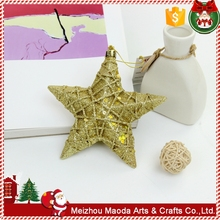 Christmas Decoration Supplies Indoor hanging arts crafts star christmas ornaments