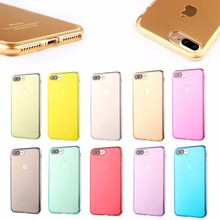 Wholesale Transparent 1MM TPU For iphone 7 plus case,For iphone 7 plus phone case