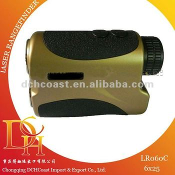 600m 6x25 laser range finder for golf measuring instrument LR060C