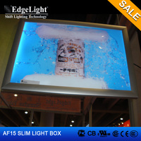 Edgelight Wholesale aluminum clip frame illuminated led tattoo tracing light box with special discount