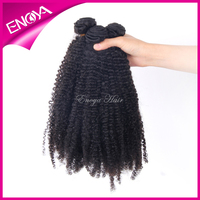 High Quality Fashion Afro Kinky Curly Indian Remy Hair Weave 100g For One Pack