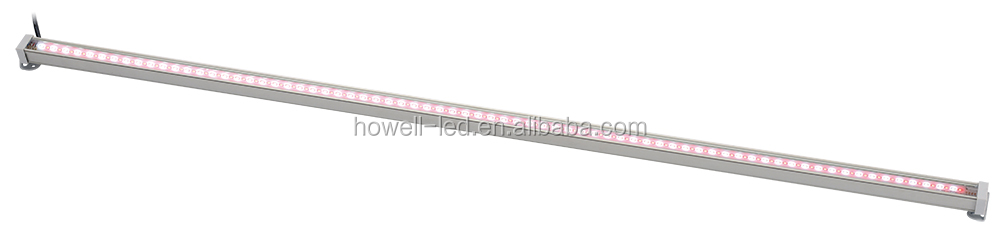 ningbo low voltage smd2835 120degree blue red wavelength aluminium 20W 1 meter led strip plant growth lamp light