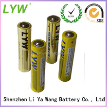 2014 LYW most popular and best selling batteries aaa 1.5v able battery for wholesale