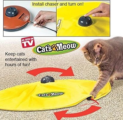 Pet Products Hot Selling Cats Meow Undercover Fabric Moving Mouse As Seen On TV Electric Cat Toy