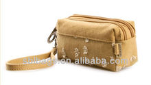 cheap vintage wholesale cosmetic bags promotional zipper cosmetic bag