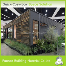 Plastic Timber Waterproof Easy Assembly Prefabricated Home