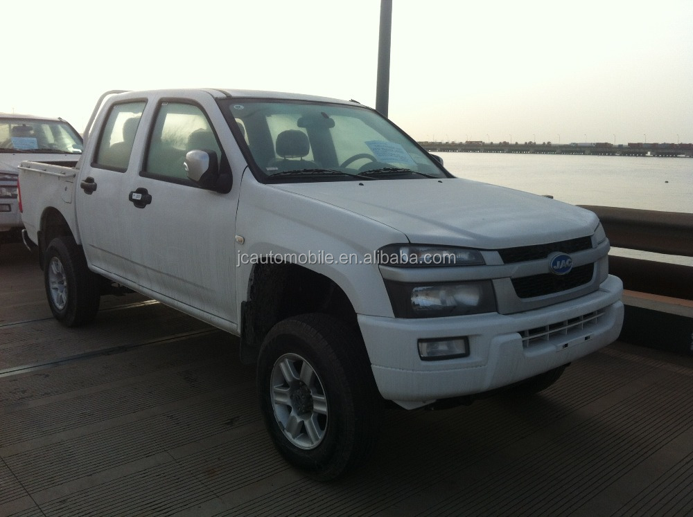 Hot model JAC 4*4 double cabin diesel type pick up with good price