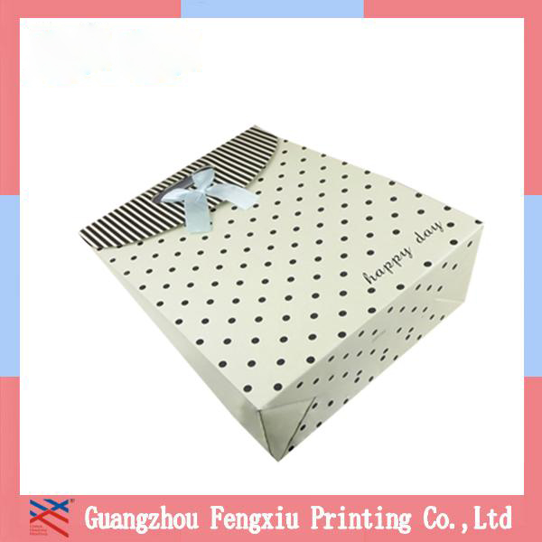 Pictures Printing Target Reusable Striped Shopping Bag