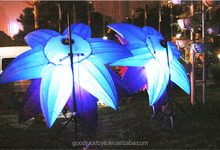 giant led inflatable flower decoration in stage decoration