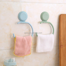 Wall Hanger With Suction Cup Towel Shelf Toilet Paper Holder Gloves Hanging Rack Hook For Kitchen Bathroom Bedroom