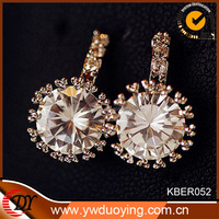 Gold Filled Jewelry High Quality China Wholesale Crystal Earring