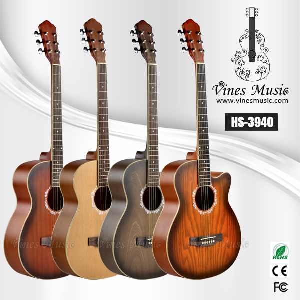 small size laminated acoustic electric guitars discount price