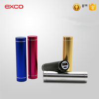 EXCO promotional hotting charger high capacity usb charge power bank for Camping