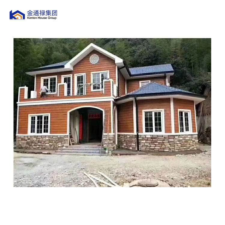 light steel frame prefabricated house with advanced machinery nepal prefab house