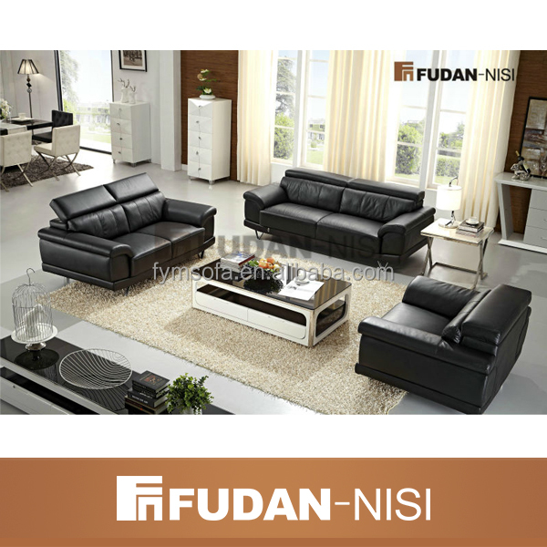 Modern Design Furniture Sofa Prices Living Room Black