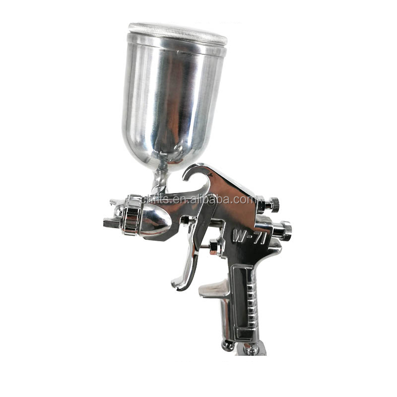 W71-G HVLP Mini Gravity Feed Air Spray Paint Gun with 400 CC Cup