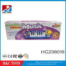 Most popular children music instrument toy 8 keys electronic organ keyboard HC298018