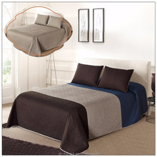 OEKO-TEX promotional pinsonic fitted bedspread