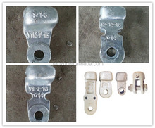 hot dipped galvanized w type socket clevis for insulator