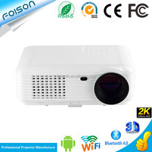 Hotsell products Home Use android 4.4 Bluetooth Quad-Core LCD led projector Home Theater Projector