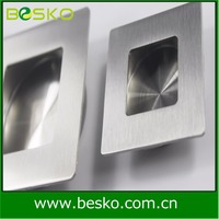 Shenzhen excellent OEM slid door handle and brush inset handles