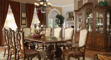 classic dining room buffet & mirror