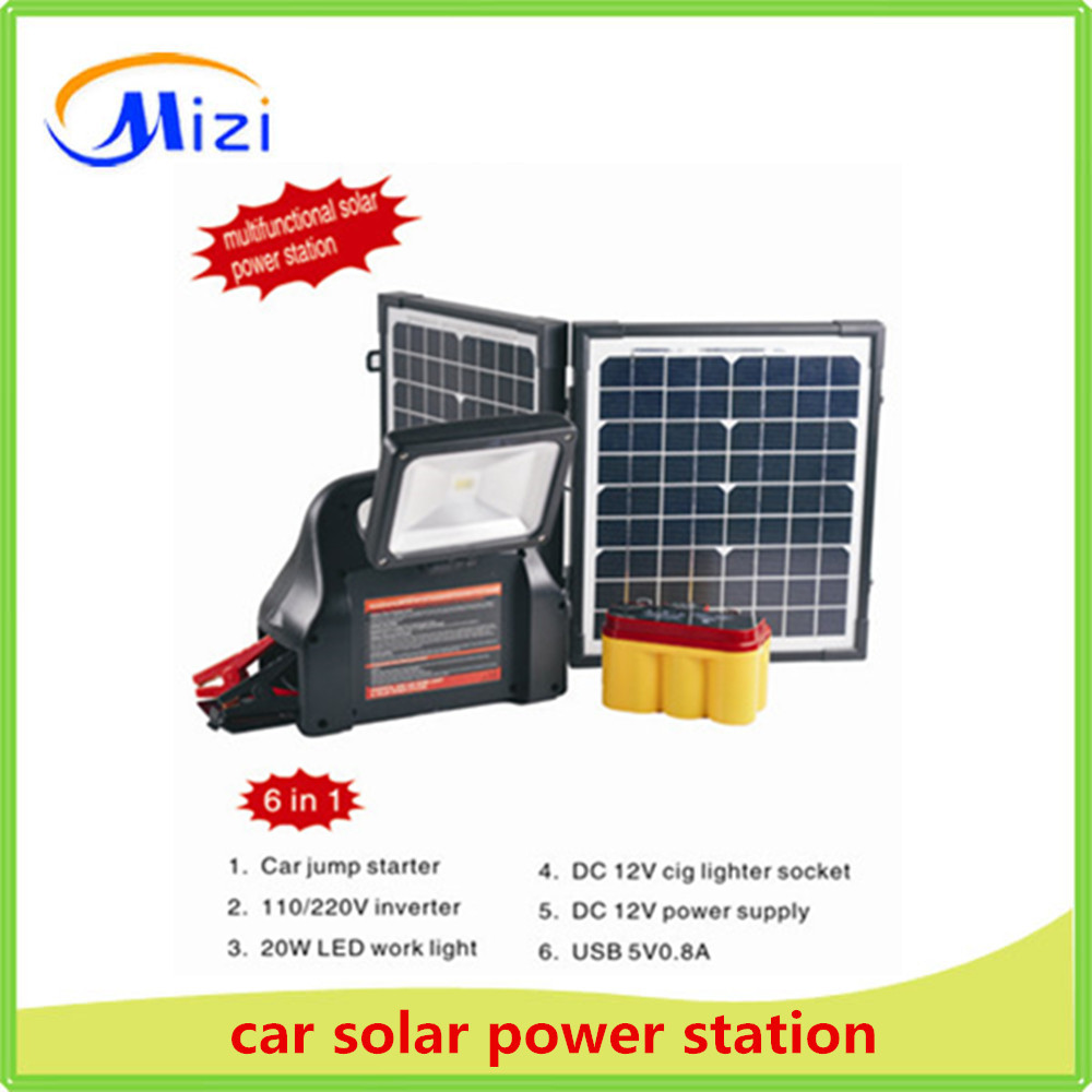 car solar emergency power supply