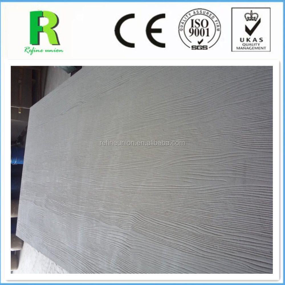 Eco- friendly Wooden Grain Fiber Cement Outdoor Siding Board
