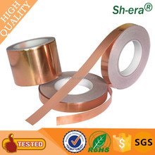 25mic conductive Copper Foil Tape by professional china supplier manufacture for shielding