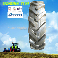 HOSOON band tires for farm tractors used with size 12.4-24 agricultural tire factory agricultural tyres 11.2-20 on promotion