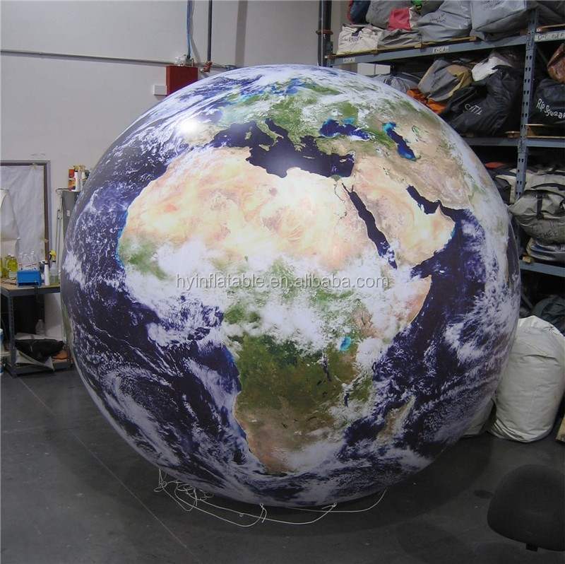 2015 inflatable earth balloon, inflatable world map balloon for sale