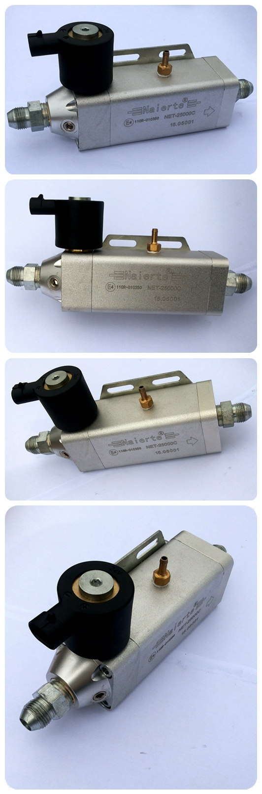 Fuel gas pressure regulator used for diesel to CNG/LNG conversion