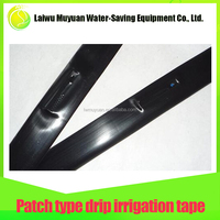 Economical durable flat drip irrigation patch tapes