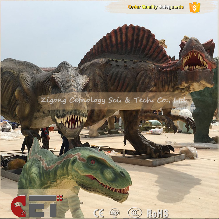 CET-N389 Cetnology life size Animatronic robot dinosaurs moving pictures