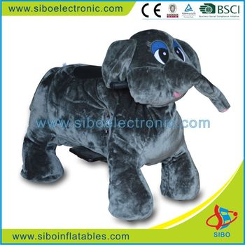 GM5907 funny elephant riding for kids, kids ride on animals