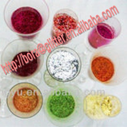 BL 2014 best glitter leather product for wholesale