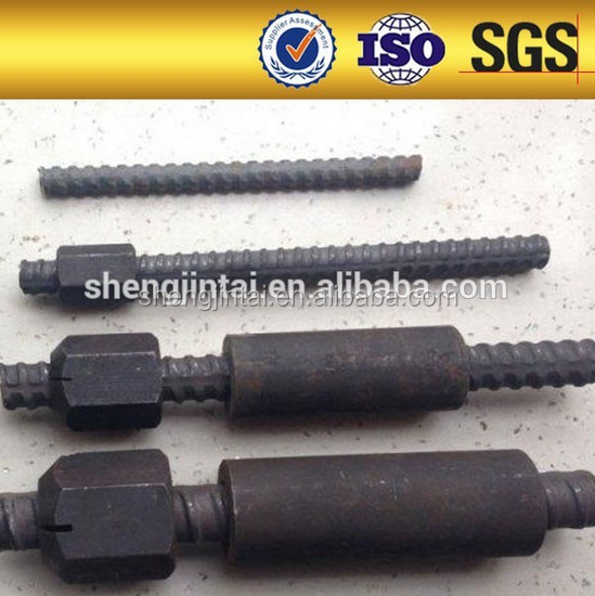 Pre-Stressing / Post Tensioning Systems threaded steel bar for Geotechnical Projects, housing international projects