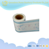 pe breathable film, raw material for baby diaper, disposable diaper materials