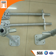Q345 scaffolding part/ Hollow screw Jack, 48mmD*915mmL